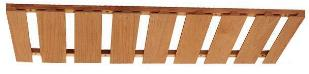 Poplar Or Oak Wine Glass Rack 40 Inch