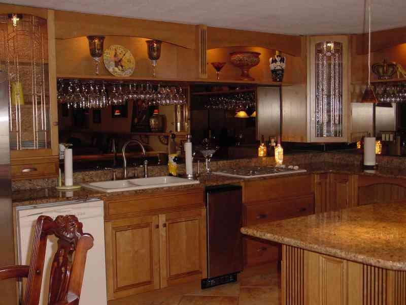 Custom Home Bar Gl Rack