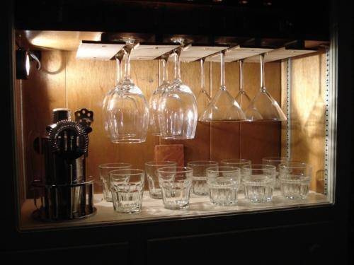 Wine Glass Lighting Ideas From Tlc Woodworks Com