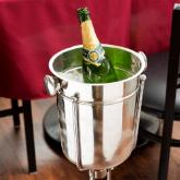 Stainless Steel Wine / Champagne Bucket